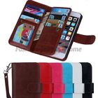 New Wallet Flip Leather Phone Case Cover For Apple iPhone 6 & 6Plus
