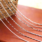 Wholesale Women Fashion 925 Silver Chain Necklace Gift Jewelry 18""