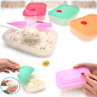 Korea Silicone Square Steamer Food Vessel Container Kitchen Tools Clean Safety