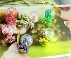 NEW Lady Daisy Hollow Double Sides Ball Stud Jewelry Eve Prom Wedding Earrings C