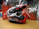 New 2015 THH TX25 Kingseye Red Motocross Helmet/Web Goggles S M L XL Enduro
