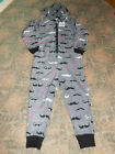Childrens Nifty Kids Grey Moustache Onesies
