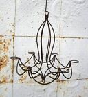 Wrought Iron Wanda Candle Light Chandelier Candelabra for Votives