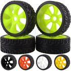 4PCS RC 1/8 OFF-ROAD BUGGY Wheel Rim & Tyre Tires 82-803 For HSP RedCat RACING