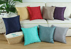 Sofa Decor Cushion Cover Pillows Shell Vivid Embroidered Roses Flowers 45 X 45cm