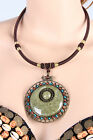 New Tribal Belly Dance Costume Accessory Necklace Jewelry Turquoise 4 Colors