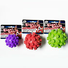 FOUR PAWS BOUNCE ABOUT BALL & BELL DOG TOY PUPPIES STRONG PLAY CHEW RUBBER FUN