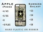 United States US Army Camo Apple iPhone Samsung Galaxy Phone Case Plastic Rubber
