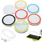 Universal QI Wireless Power Charging Charger Pad + USB Cable For Mobile Phones