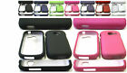 1 Rubber Feel Skin Hard Case Cover For SAMSUNG Galaxy Centura SCH-S738C Phone