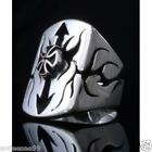 925 STERLING SILVER IRON CROSS GOTHIC TRIBAL BIKER RING US sz 7 to 15