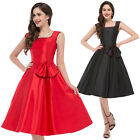 CHEAP! Womens Vintage Rockabilly Rock N Roll 1950s 60's Mother Swing Pinup Dress