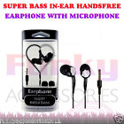 Stereo Sound In Ear Hands Free Headset Head Phones+Mic fits Samsung Galaxy J5