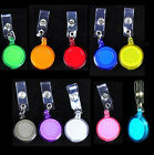 Lot of 20 ID Badge Holder Reel Retractable Key Clip Wholesale Price 10colors