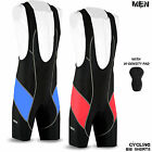 Mens Cycling Bib Tight Shorts MTB Bicycle Legging Anti-Bac Padded Size - S to XL