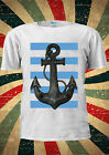 Sailor Anchor Sea With Blue Line Pirate T Shirt Vest Top Men Women Unisex 2075