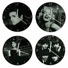 Icon Collection Glass Clocks Style- Elvis, Marilyn, Audrey, The Beatles
