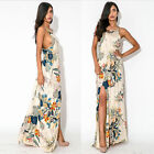 Women Fashion Summer Floral Boho Long Maxi Dress Evening Party Plus Size US.HF 6