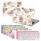 "Floral Prints Hard Case Keyboard Cover For MACBOOK Pro Air 11"" 13 15 12"" retina"