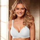 Bali Comfort Padded Wirefree Shaping Bra - Style 3463 - Featuring White
