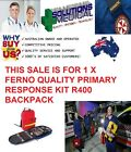 FERNO PRIMARY RESPONSE BACKPACK R400 BAG ONLY NO CONTENTS QUALITY ITEM