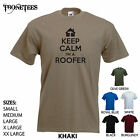 'Keep Calm I'm a Roofer' (logo) Funny Job Builder / Roof Roofing T-shirt Tee