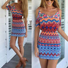Women Summer New Sexy Sleeveless Casual Evening Cocktail Party Short Mini Dress