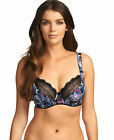 Brand New Freya Lingerie Pansy Plunge Balcony Bra Midnight 1681 1682 SELECT SIZE