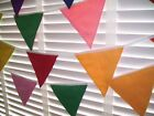 Carnival, Party, Festival or Celebration, Hand Made, Double Sided Cotton Bunting