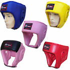Rex Leather Boxing Head Guard  Helmet Face Protector Gear  Mens,Ladies
