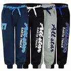 KIDS JOGGING BOTTOMS TRACKSUIT SWEATPANTS ALL STAR PRINT GIRLS BOYS 3-14 YEARS