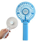USB Mini Portable desk Hand Fan out door Rechargeable Handheld Travel Air Cooler