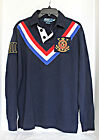 Polo by Ralph Lauren -  Snow Polo Long-Sleeve Inverted-Chevron Rugby Shirt