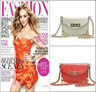 *100% NEWEST ARRIVAL* SLING BAG CLUTCH HANDBAG SHOULDER BAG WITH REMOVABLE CHAIN