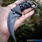 TACTICAL COMBAT KARAMBIT FIXED BLADE KNIFE Survival Hunting BOWIE Claw w SHEATH