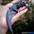 TACTICAL COMBAT KARAMBIT NECK KNIFE Survival Hunting BOWIE Fixed Blade w SHEATH