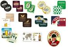 Pack of 50 Beer Mats - Assorted Designs - FREE POSTAGE