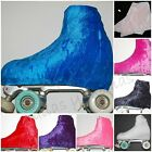INTERMEZZO ICE SKATE ROLLER SKATING BOOT COVERS VELOUR VARIOUS COLOURS MEDIUM