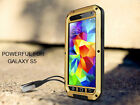 Aluminum Metal Waterproof Dirt/Shockproof Case Cover For Samsung Galaxy S5 N1