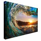 Rough colored ocean wave Canvas Prints, Affordable Wall Art - Great Value