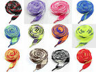 18mm & 12mm FLAT FAT EXTRA WIDE 115cm SHOE LACES *13 COLOURS TRAINERS SNEAKERS