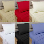 LUXURY 100% EGYPTIAN COTTON PERCALE 400TC FITTED SHEETS ALL UK STANDARD SIZES
