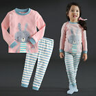 "Vaenait Baby Infant Toddler Kids Girls Clothes  Pyjama Set ""Pink Bunny"" 12M-7T"
