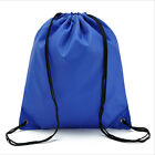 Hot Unisex Nylon Drawstring Bag Book Sport Shoe Clothes Outdoor Travel Backpack