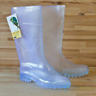 Town & Country Chameleon Ladies Transparent Clear Wellington Boots Wellies