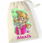 Personalised Child's Christmas Stocking / Santa Sack Xmas Boys & Girls 2 sizes
