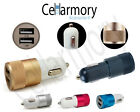 iPhone 6 plus 5 5s 5c Dual port car charger IOS9 Samsung s6 Note HTC LG Lumia