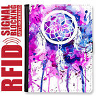 DREAMCATCHER GENUINE LEATHER RFID ANTI THEFT PASSPORT WALLET ORGANIZER COVER