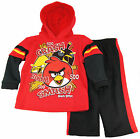 Angry Birds Little Boys' Toddler Cash Smash Hooded Fleece Jacket 2Pc Pants Set