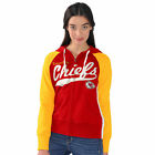 Kansas City Chiefs WOMENS Sweatshirt Full Zip Up Hoody All World Pro by G-III on eBay